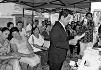 [ワールド通信員ネット]/@ボリビア/県人の功績 思いはせる/移住110周年慰霊祭/沖縄の心 子々孫々へ