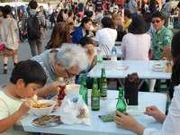 台湾グルメ、予想以上の人気 本場の味「癖になりそう」 瀬長島で夜市始まる