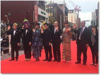 東京都葛飾区の地域発信型映画「この街と私」に出演した上原実矩、LiLiCo、川原克己(天竺鼠)たち