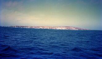(資料写真)沖大東島
