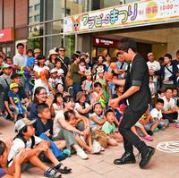 沖縄タイムスのファン感謝祭に1700人! まんが教室やマジック楽しむ