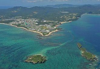 (資料写真)沖縄県名護市辺野古沖