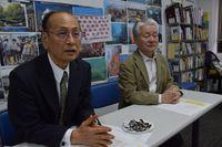 孫崎享さん、政治性理由の排除を批判 勉強会「沖縄とトランプ大統領」の開催巡り