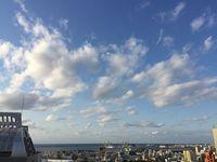 沖縄の天気予報(1月17~18日)気圧の谷の影響で曇り