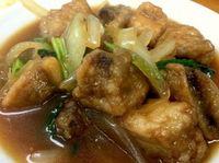 那覇市のあやぐ食堂でまぐろのあんかけ定食を食べたの巻 運転手メシ(221)