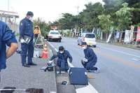 辺野古で抗議の市民をひき逃げ 2人負傷、名護署が捜査