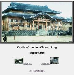 琉球大学付属図書館のウェブサイトで公開されている写真。トップページには「色は撮影後に人手で着色されたもの」と明記されている(同図書館ウェブサイトより)