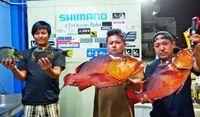 [有釣天]安田漁港でアカナー連続ヒット