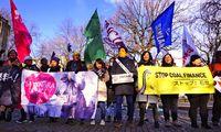 日本の石炭火力 批判続出/COP24 環境団体が抗議