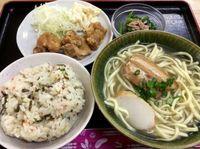那覇市のはっちゃん食堂でそば定食を食べたの巻 運転手メシ(231)
