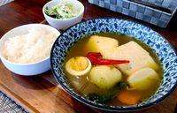 宮古島の新たなグルメ! たまご家おかんの「島豆腐スープカレー」が連覇