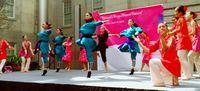 勇壮バレエ、観客魅了 NS琉球バレエ団 ワシントンで海外初公演