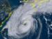 台風22号(28日10時20分、ひまわり8号リアルタイムwebから)