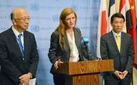 安保理緊急会合  日米韓が北朝鮮ミサイル発射非難 声明発表に中国反対