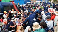 「奇跡の6日間に」ゲート前に500人超、辺野古反対訴え