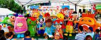 「観光の日」に沖縄のゆるキャラ集合 各地の魅力PR