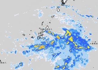 雨雲の動き=5日午前11時(気象庁HPから)