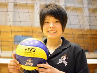 リオデジャネイロ五輪の女子日本代表に選ばれた座安琴希