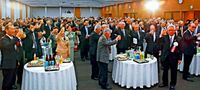 新JA会館完成祝う/祝賀会に関係者600人