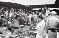 82年前、那覇の中心地は・・・ 東町・サンシャイン通り会「繁栄の姿継承したい」 資料集め地図再現