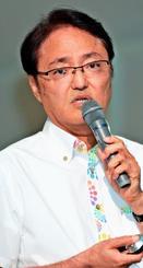 砂川博司氏(県医師会理事)