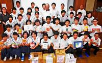 中学生がフードバンクに食品寄贈 「役立てばうれしい」沖縄・大里中