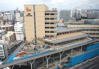 那覇の新しい顔 バスターミナルもうすぐ完成 「カフーナ旭橋」23日落成祝賀会