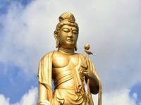 ガンダムよりデカイ? 沖縄に高さ25mの巨大菩薩像 東南植物楽園