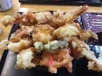 浦添市牧港の太陽で海鮮天丼を食べたの巻 運転手メシ(249)