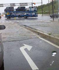 大雨 粟国で146・5ミリ/3カ所で3月史上最大