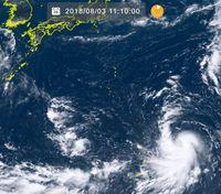 台風13号発生(サンサン) 発達しながら日本付近へ