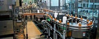 「萬寿のしずく」を生産している熱帯資源植物研究所の新設備=うるま市栄野比・熱帯資源植物研究所内