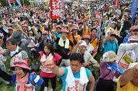 「この国を戦争国家にしない」5・15平和行進 2500人が集結