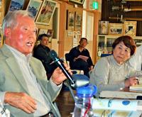 戦の犠牲「常に庶民」 東京大空襲生き延びた二瓶さん、沖縄で学ぶ