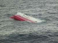 沖縄のマグロ漁船、パラオ沖で転覆 船長ら7人不明