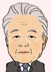 富川盛武氏
