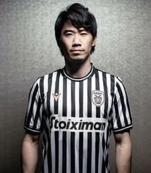 サッカーのギリシャ1部リーグ、PAOKに入団が決まった香川真司