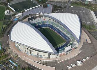 10月30日にYBCルヴァン・カップ決勝が行われる埼玉スタジアム=さいたま市