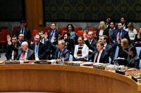 安保理シリア停戦決議採択 人道支援目的、30日間