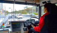 那覇空港-豊崎で自動運転バス あす18日から 1日6往復実験運行