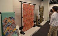 田中琉北さんの紅型個展が10日開幕 タイムスギャラリー15日まで