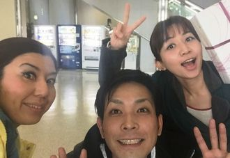 【CMソングでも有名な、アーティスト石川清貴さんと宮城姉妹】