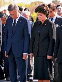 済州島虐殺70年で追悼/4・3事件 韓国大統領「深く謝罪」