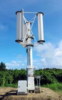 台風でも風力発電、沖縄で実証実験 強風多いアジア離島へ展開狙う