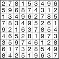 [チャレンジ数独](解答)