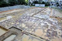 【写真特集】よみがえる久茂地尋常小学校 発掘で遺構出土