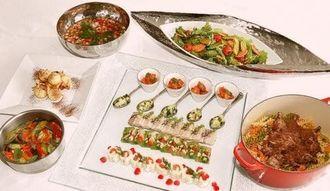 講習会で作られる料理