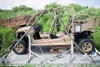 空中投下の車両 900キロ特殊作戦用/伊江 米軍サイトに記載
