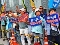 「沖縄問題は憲法問題」 国会包囲行動の参加者、9条改憲にも危機感