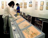 貴重! 琉球八景の色試し「校合摺り」 葛飾北斎展で1日から展示